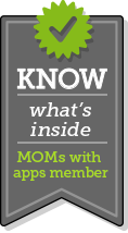 Know what's inside - Mom's with Apps Member