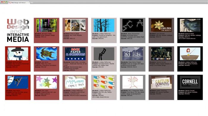 Web Design Interactive Media Touchscreen Design