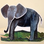 Mabell's Zoo Elephant Cutout